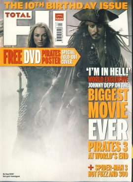 TOTAL FILM magazine April 2007 Johnny Depp PIRATES ref101065 Pre-owned in very good condition. Magazine ONLY