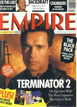 EMPIRE magazine Sept 1991  Arnold Schwarzenegger (with prints)ref100214 Pre-owned in very good clean condition still with prints inside. Please see larger photo and full description for details.