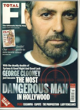 TOTAL FILM magazine March 2006 George Clooney