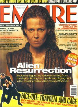EMPIRE magazine DEC 1997 Sigourney Weaver