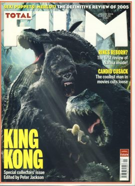 TOTAL FILM magazine #110 2006 KING KONG ref101067 Pre-owned in very good condition. Magazine ONLY