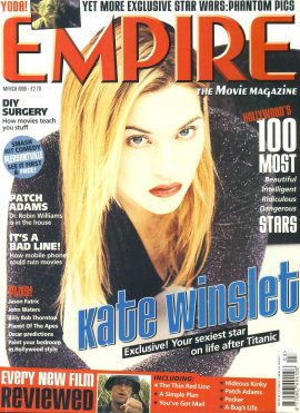 EMPIRE magazine March 1999 Kate Winslet