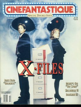 CINEFANTASTIQUE magazine 1995 X FILES double issue Goldeneye
