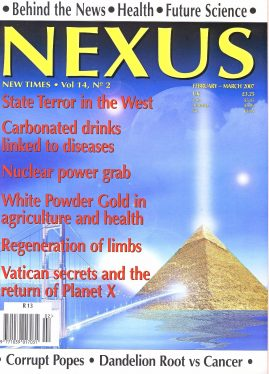 NEXUS New Times magazine State Terror in the West