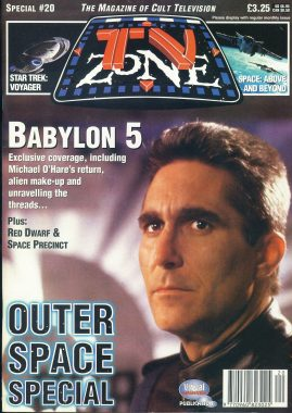 TV Zone Cult Television magazine No.20 BABYLON 5 ref100219 Pre-owned in very good condition. Please see larger photo and full description for details.