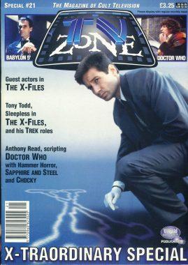 TV Zone Cult Television magazine No.21 X-FILES