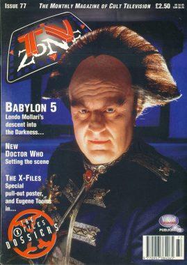 TV Zone Cult Television magazine No.77  BABYLON 5