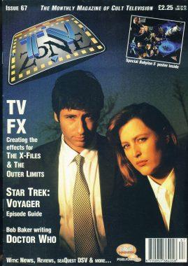 TV Zone Cult Television magazine No.67 X-FILES
