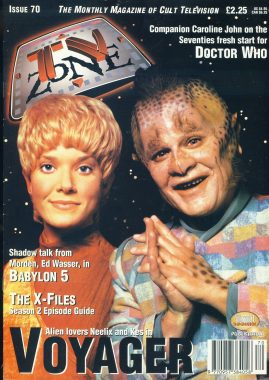 TV Zone Cult Television magazine No.70 Neelix and Kes VOYAGER ref100226 Pre-owned in very good condition. Please see larger photo and full description for details.