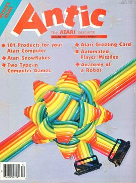 Antic ATARI magazine DEC 1983 BUYERS GUIDE ref100856 Good condition. Please see larger photo and full description for details.
