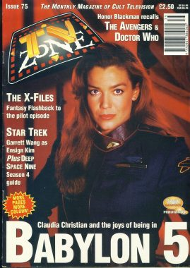 TV Zone Cult Television magazine No.75 Claudia Christian ref100228 Pre-owned in very good condition. Please see larger photo and full description for details.