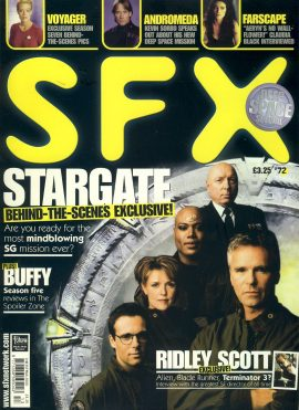 SFX magazine #72 STARGATE behind the scenes