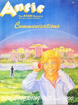 Antic ATARI magazine MAY Vol.2 #2 1983 Communcations ref100857 Good condition. Please see larger photo and full description for details.