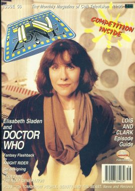 TV Zone Cult Television magazine No.56 Elisabeth Sladen  Ref100230 Pre-owned in good condition. Please see larger photo and full description for details.