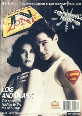TV Zone Cult Television magazine No.57 Lois and Clark