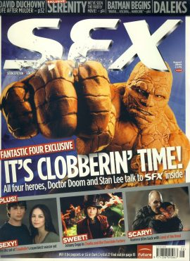 SFX magazine #133 FANTASTIC FOUR  ref101086 Pre-owned in very good condition. Magazine ONLY