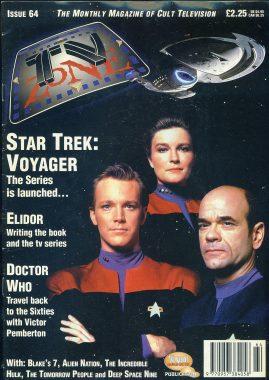 TV Zone Cult Television magazine No.64 ELIDOR