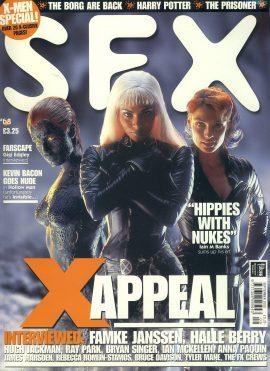 SFX magazine #68 X-men Famke Janssen