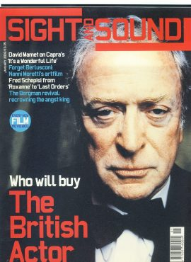 Sight & Sound Film Magazine JAN 2005 Michael Caine ref100237 Pre-owned in very good condition. Please see larger photo and full description for details.