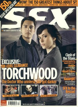 SFX magazine #150 2006 Torchwood Doctor Who ref101091 Pre-owned in very good condition. Magazine ONLY