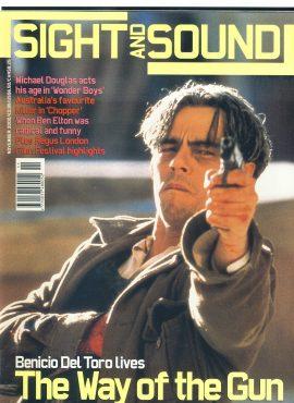 Sight & Sound Film Magazine NOV2000 Benicio Del Toro ref100238 Pre-owned in very good condition. Please see larger photo and full description for details.