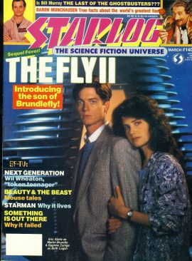 STARLOG magazine #140 1989 The Fly II
