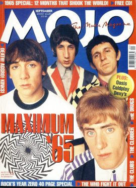 MOJO Music magazine September 2000 THE WHO Maximum '65ref101535 Good Condition. This is a pre-owned item so may have some marks