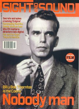 Sight & Sound Film Magazine OCT 2001 Billy Bob Thornton ref100240 Pre-owned in very good condition. Please see larger photo and full description for details.