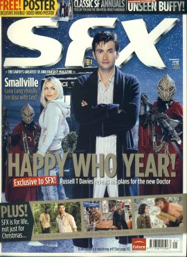 SFX magazine #139 2006 Doctor Who Billie Piper Russell T Davies ref101094 Pre-owned in very good condition. Magazine ONLY