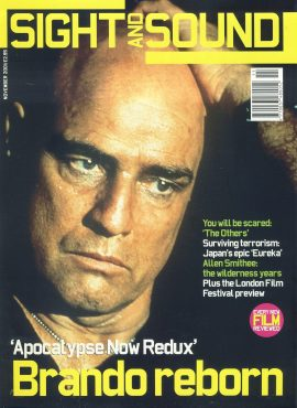 Sight & Sound Film Magazine NOV 2001 Marlon Brando ref100241 Pre-owned in very good condition. Please see larger photo and full description for details.