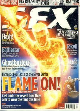 SFX magazine #158 2007 Flash Gordon