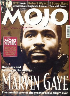 MOJO Music magazine March 1999 MARVIN GAYE ref101538 Good Condition. This is a pre-owned item so may have some marks