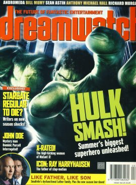 dreamwatch magazine #104 HULK