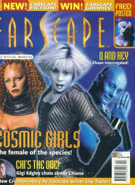 FARSCAPE Sci-Fi Official Magazine No.4 COSMIC GIRLS ref100243 Pre-owned in very good condition. Please see larger photo and full description for details.