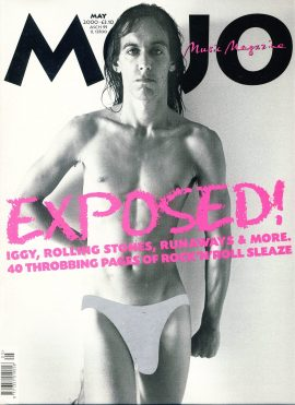 MOJO Music magazine May 2000 IGGY POP ref101540 Good Condition. This is a pre-owned item so may have some marks