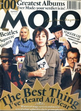 MOJO Music magazine January 1996 100 greatest albums verdict ref101541 Good Condition. This is a pre-owned item with marks
