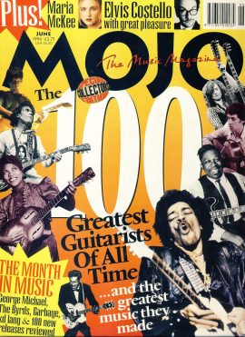 MOJO Music magazine June 1996 100 Greatest Guitarist of All Time ref101543 Good Condition. This is a pre-owned item so may have some marks