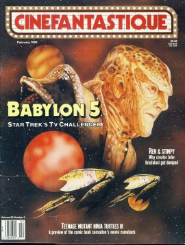 CINEFANTASTIQUE magazine 1993 BABYLON 5