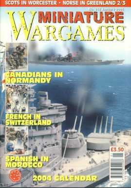 Miniature WARGAMES #248 CANADIANS IN NORMANDY French in Switzerland SPANISH IN MOROCCO magazine ref101387 Pre-owned in very good condition. Magazine ONLY