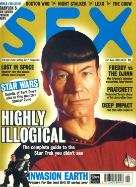 SFX magazine #39 1998 Patrick Stewart Jean Luc Picard as a Vulcan on cover ref101102 Pre-owned in very good condition. Magazine ONLY