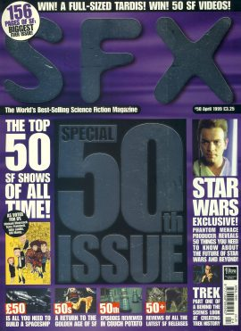 SFX magazine #50 1999 Special Issue ref101104 Pre-owned in very good condition. Magazine ONLY