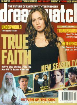 dreamwatch magazine #109 Thunderbirds Lady Penelope