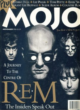 MOJO Music magazine November 1994 R.E.M. ref101547 Good Condition. This is a pre-owned item with marks