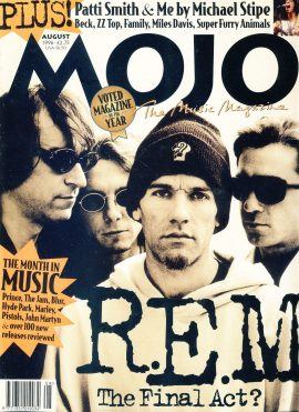 MOJO Music magazine August 1996 R.E.M. The final act? ref101549 Good Condition. This is a pre-owned item so may have some marks