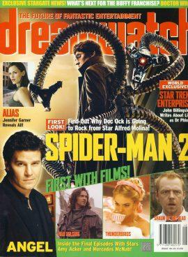 dreamwatch magazine #116 Jennifer Garner