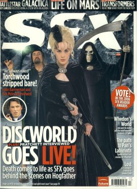 SFX magazine #151 Christmas 2006 Discworld Terry Pratchell interview ref101108 Pre-owned in very good condition. Magazine ONLY