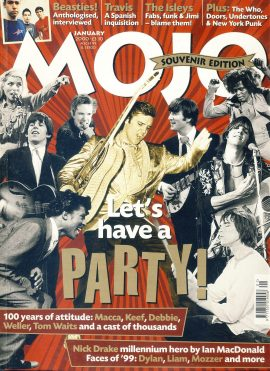 MOJO Music magazine January 2000 Souvnir Edition - Nick Drake (14 pages) ref101551 Good Condition. This is a pre-owned item so may have some marks