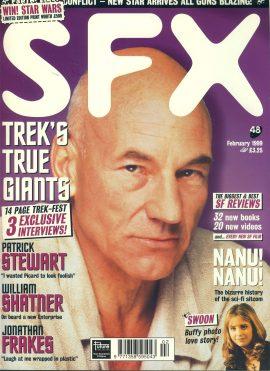 SFX magazine #48 1999 STAR TREK Patrick Stewart