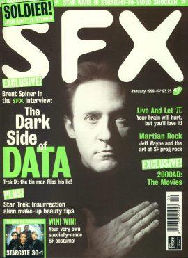 SFX magazine #47 1999 Brent Spiner DATA