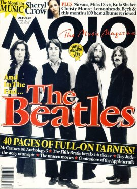 MOJO Music magazine October 1996 THE BEATLES ref101554 Good Condition. This is a pre-owned item so may have some marks